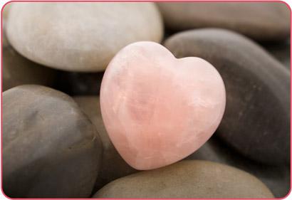 Розов Кварц Сърце