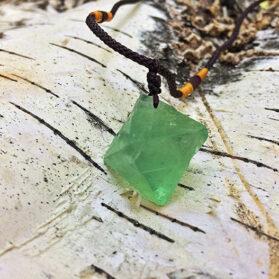 Висулка Зелен Флуорит