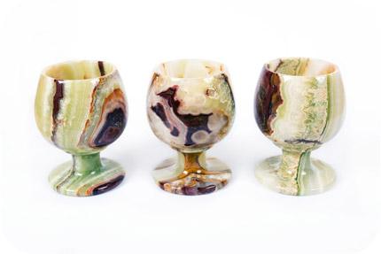 Чаши изработени от Оникс