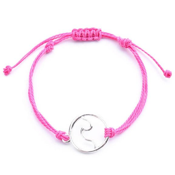 Розово восъчна нишка